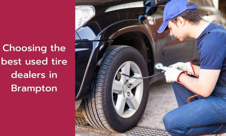 used tire dealers in Brampton